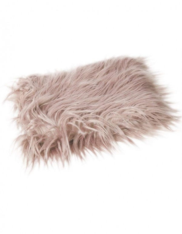 Newborn Baby's Artificial Fur Blanket- Photo Props