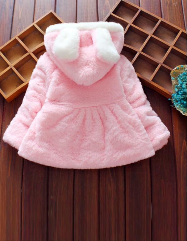 Bunny Pink Full Sleeve Coat