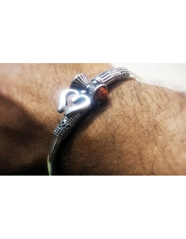 Trishul Damroo-Designer Kada Bracelet