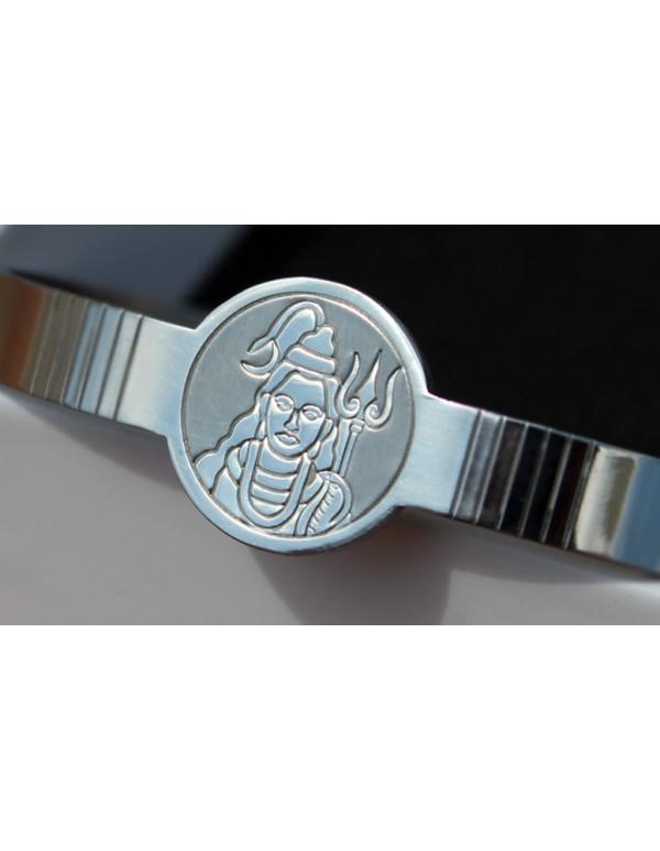 Premium Finish Stainless Steel  Shiva Cuff