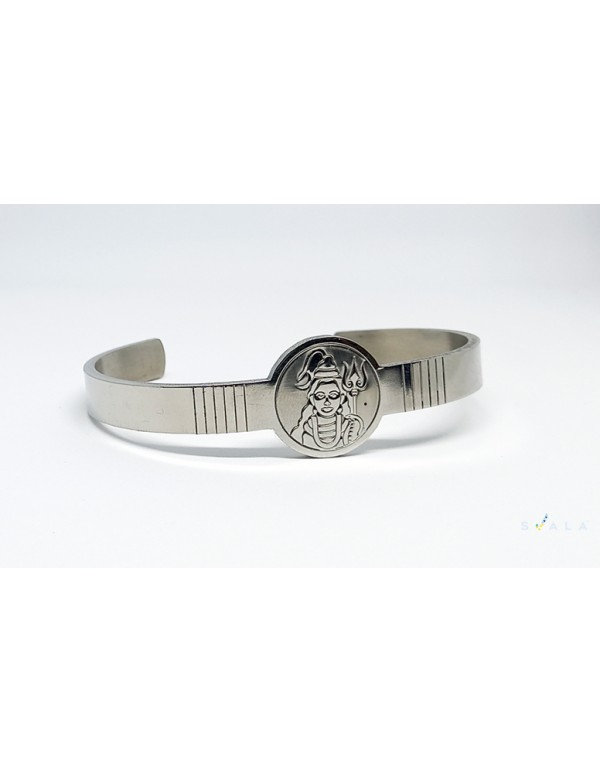 Premium Finish Stainless Steel  Shiva Cuff