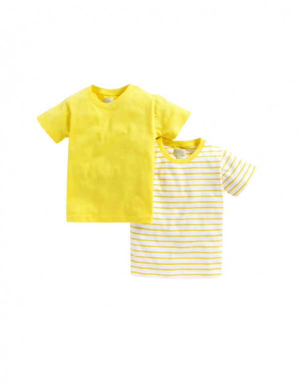 Boys Yellow Combo T-Shirts