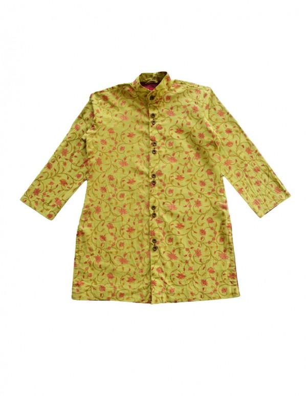 Festive Print cotton Kurta Pajama Set