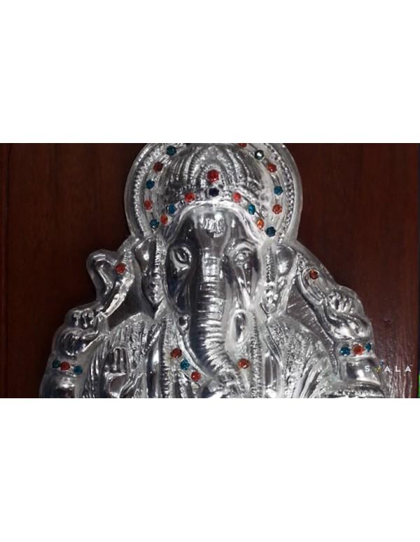 32gm-Sree Ganesha 999 Silver idol