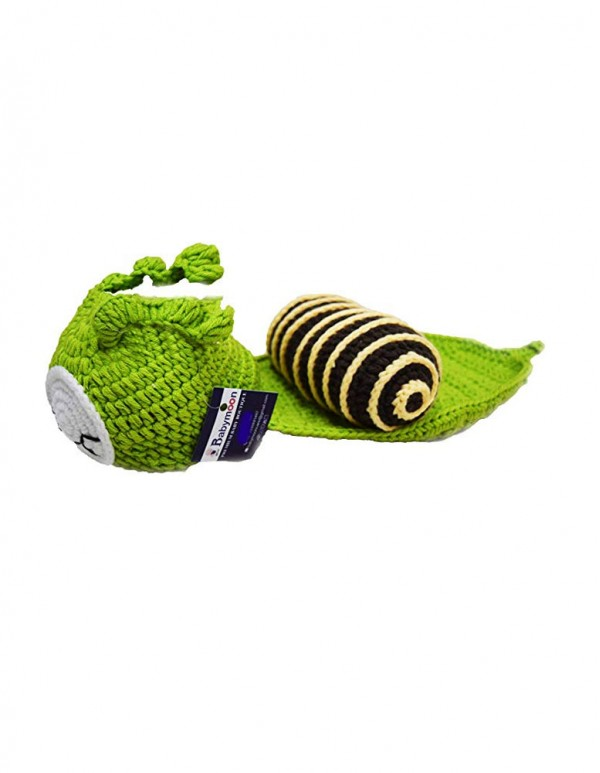 Newborn Baby's Snail Crochet Costume -Photoshoot Props
