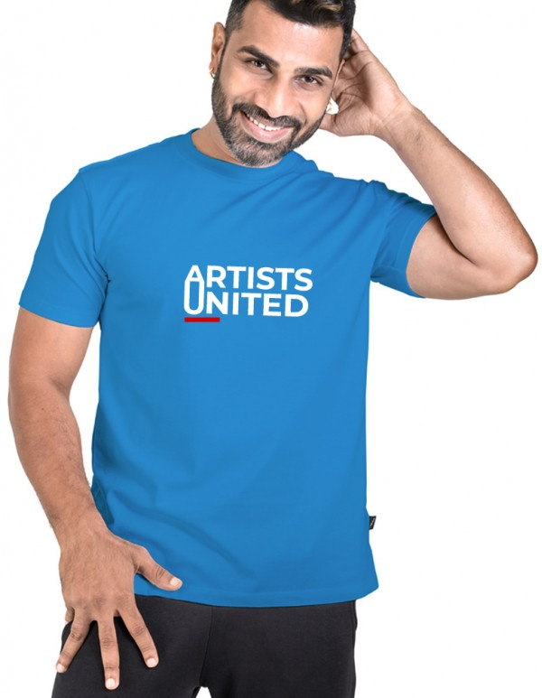 Men's Crew Neck Custom Printed -Artist United  Tee