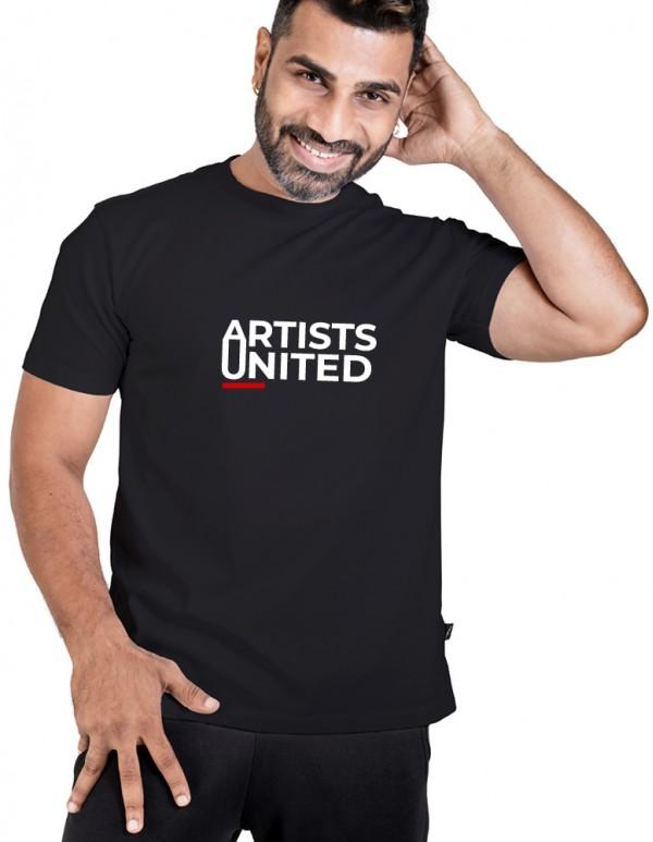 Men's Crew Neck Custom Printed -Artist United  Tee