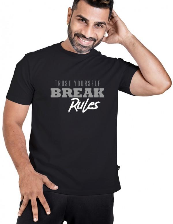 Men's Crew Neck Custom Printed - BreakRules Tee