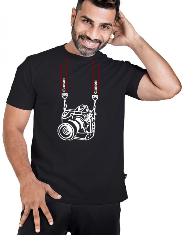 Men's JetBlack tee-Photography