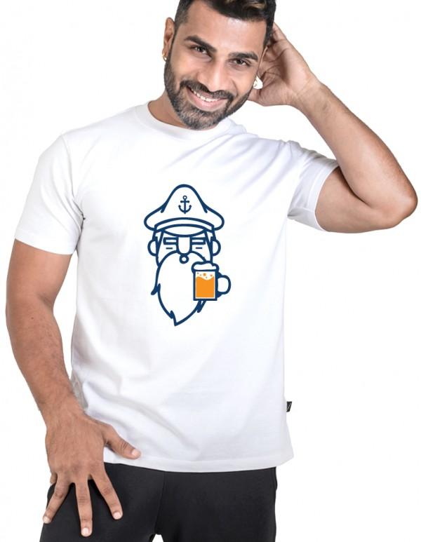 Custom Printed Captain Beer Tee