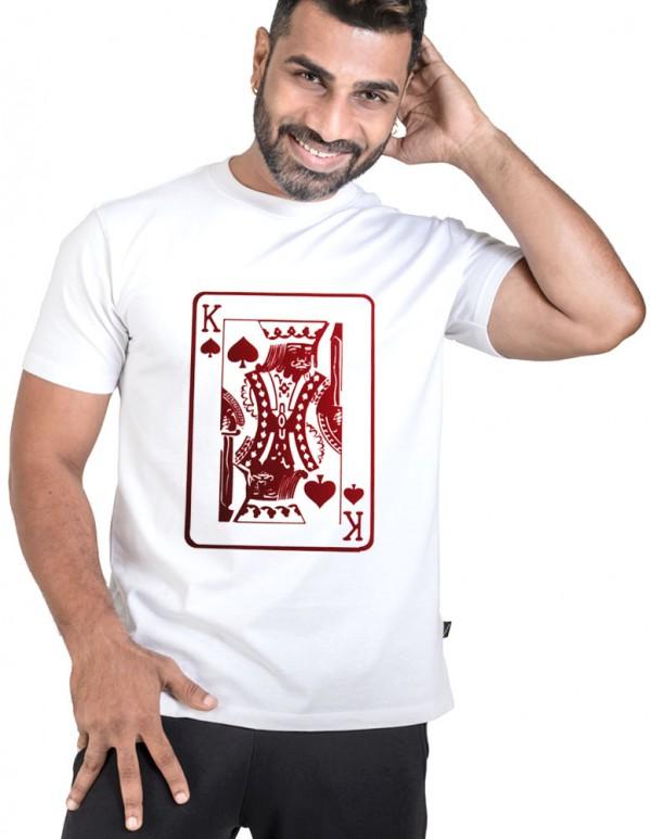 Custom Printed -King Spade Tee